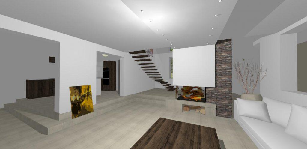 interierovy dizajn - luxusny rodinny dom