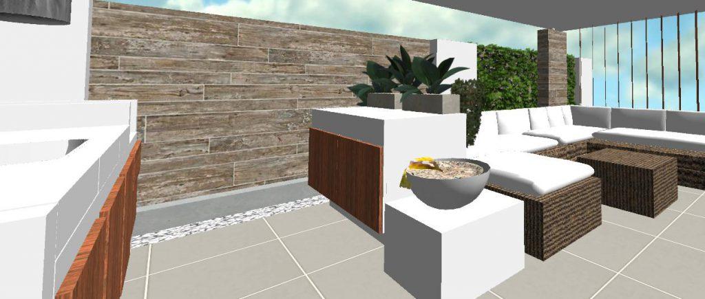 vonkajsia kuchyna moderneho altanku