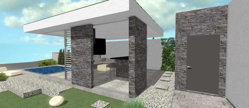 prechod do moderneho altanoku z domu